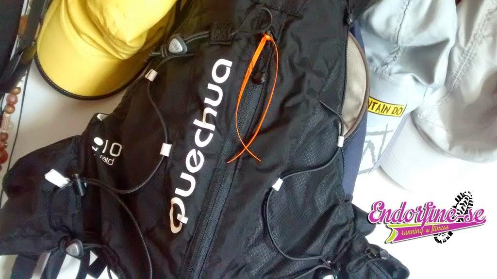 mochila de hidratação quechua