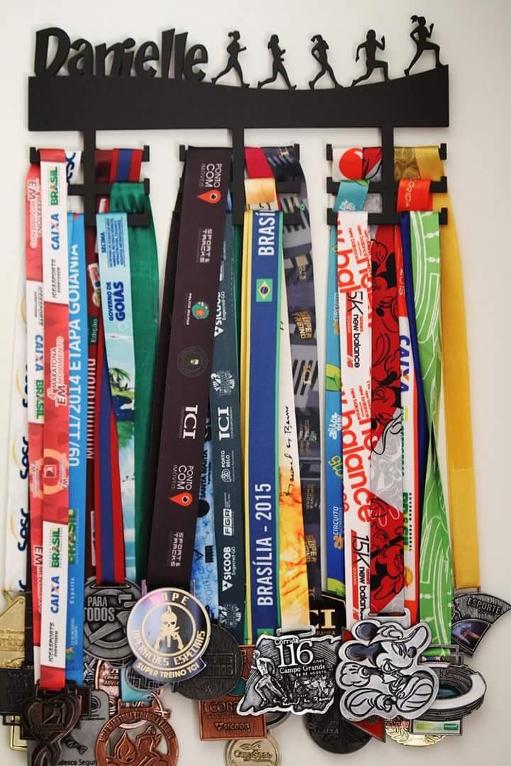 Suporte Porta Medalhas Personalizado