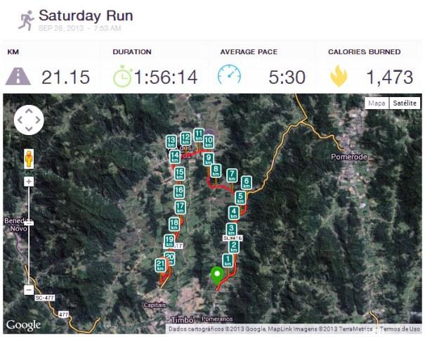 primeira meia maratona