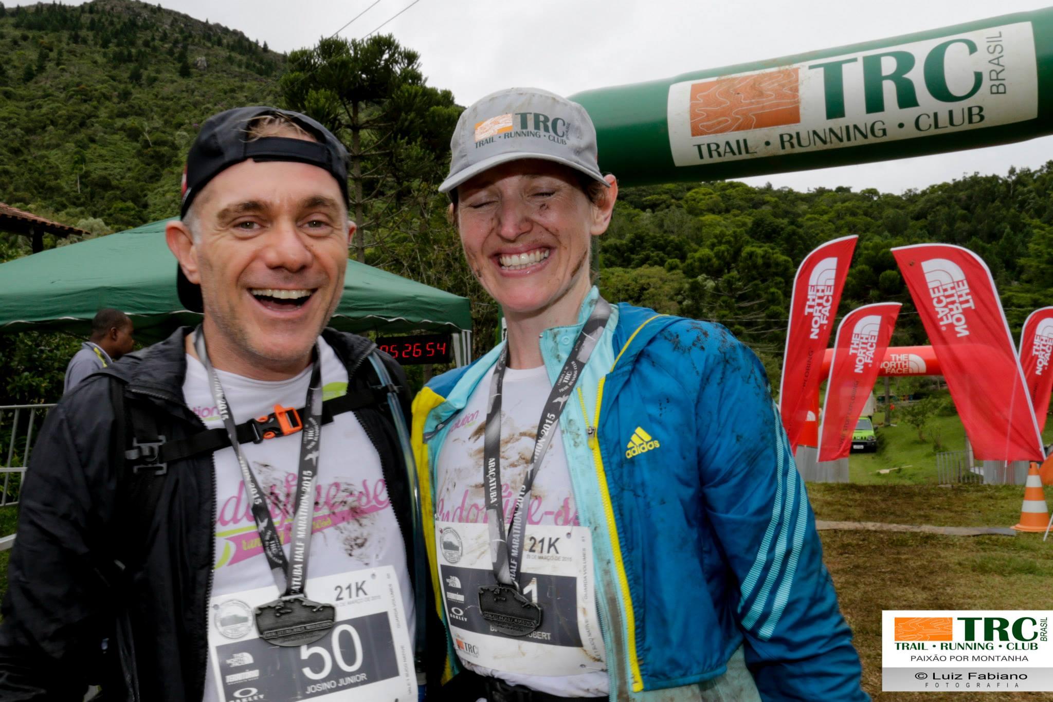 Araçatuba Half Marathon - Depois da chegada, os sorrisos dispensam palavras
