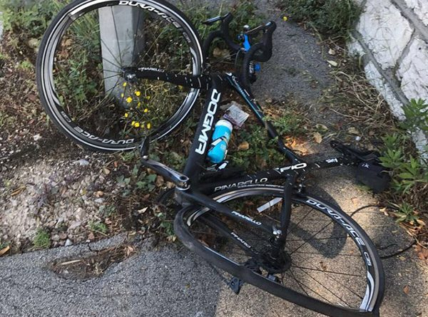 Chris Froome Atropelado