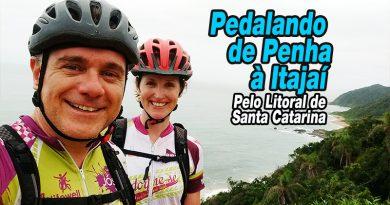 Pedalando de Penha à Itajaí