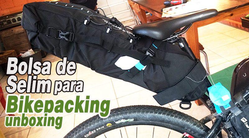 Bolsa de Selim para Bikepacking