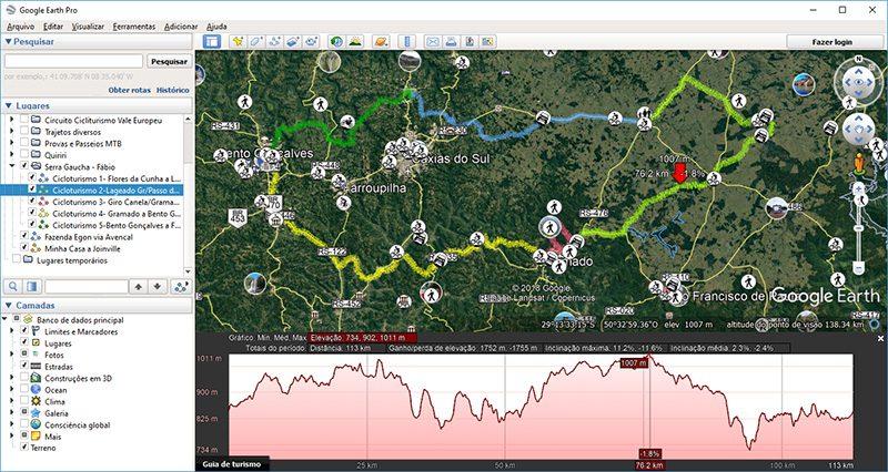 Mapa de papel ou navegador GPS