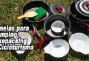 Panelas para Camping, bikepacking e Cicloturismo