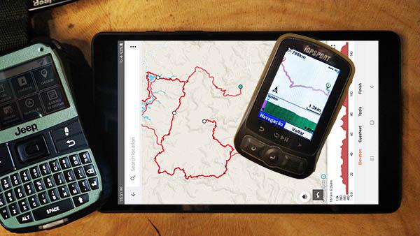 como criar rotas para o gps de ciclismo