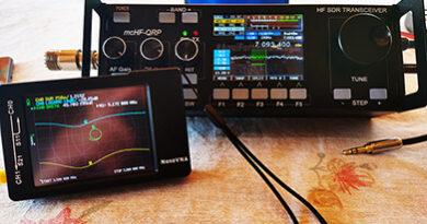 Radio QRP mcHF M0NKA